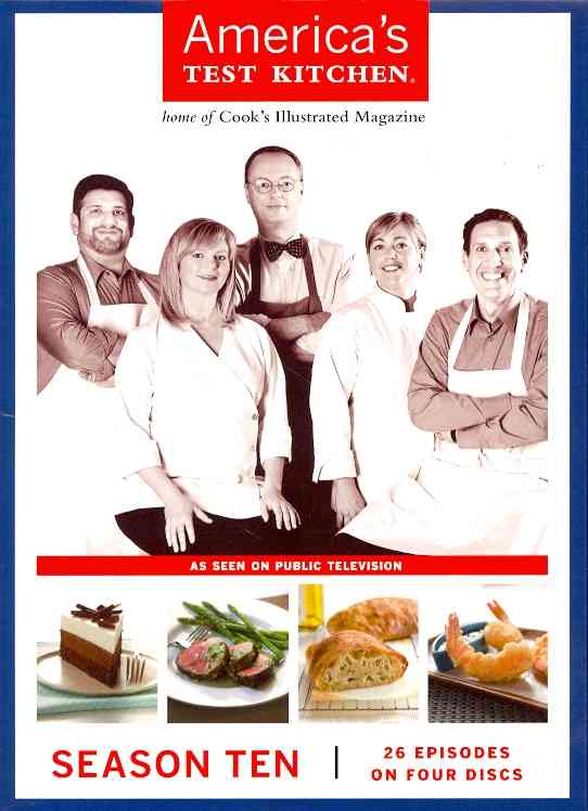 AMERICA'S TEST KITCHEN SEASON 10 BY AMERICA'S TEST KITCH (DVD)
